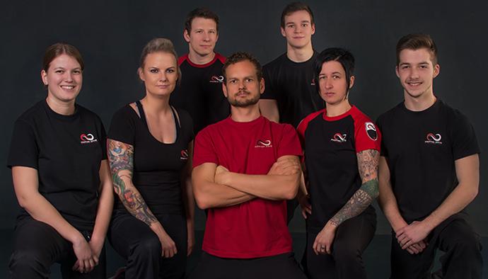 Das Team der Kampfkunstschule Wels auf einen Blick