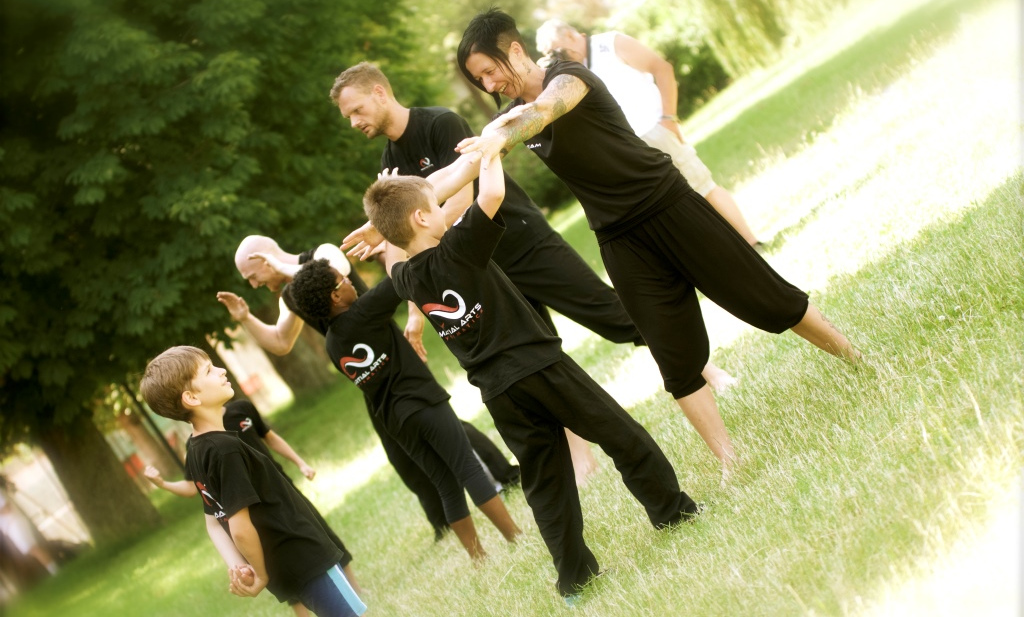 Martial Arts Systematics Kindertraining im Grünen